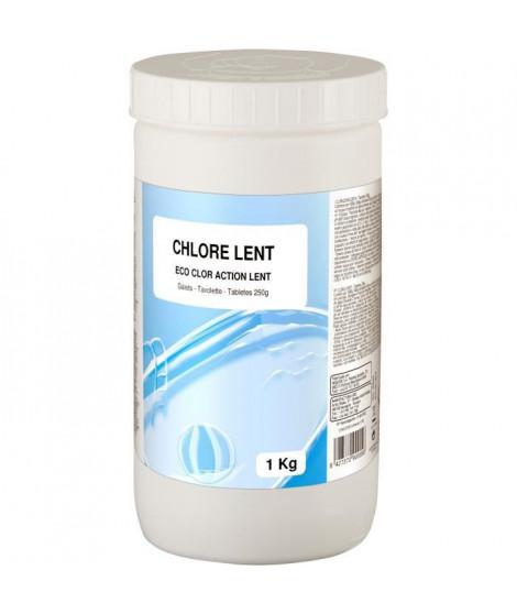 GRE - Chlore lent 1Kg - Galets 250grs