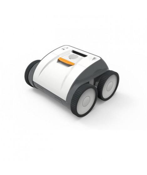BESTWAY Robot aspirateur autonome de piscine  Aquaglide pour piscine a fond plat 3,5 x 5 m, batterie rechargeable