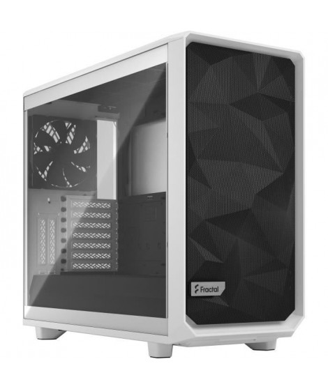 FRACTAL DESIGN Boitier PC Meshify 2 Blanc Panneau Verre Trempé Transparent(FD-C-MES2A-05)