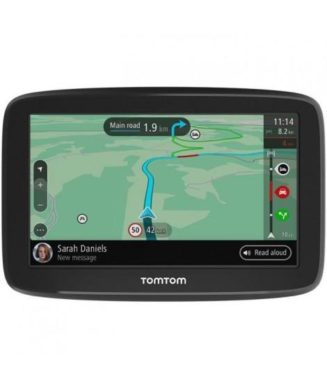 TOMTOM GPS GO Classic 6 - Mises a jour via Wi-Fi, Carte Europe 49 pays, TomTom Traffic, Alertes de zones de danger 1 mois inclus