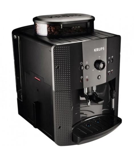 KRUPS EA810B70 - Machine Espresso KRUPS Essential - Thermoblock - Broyeur a café intégré - 15 bars - Réservoir d'eau 1,7L - Noir
