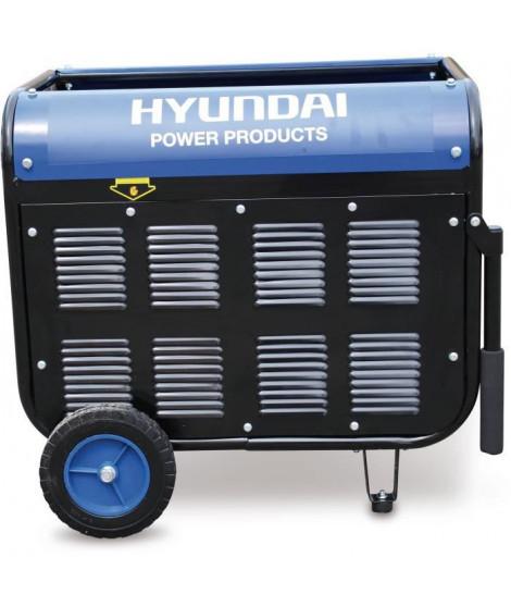 HYUNDAI Groupe électrogene essence de chantier 4300 W 4000 W - Systeme AVR HG4000-A