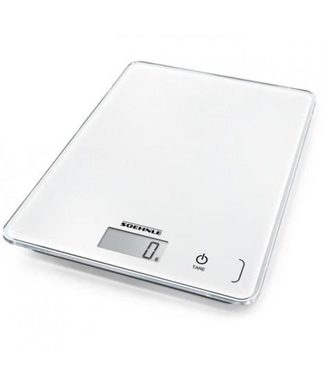 SoeHNLE 0861501 - Balance Electronique COMPACT blanche - 61501 - 5 Kg/1g