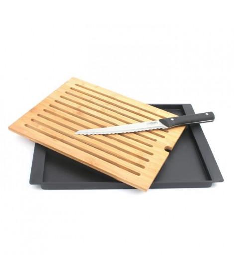 Planche a pain en bambou Modernity + couteau a pain
