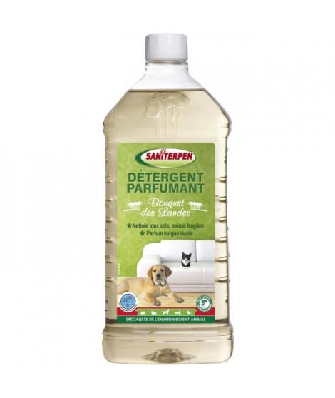 SANITERPEN Désinfectant nettoyant parfumant Landes - Pour tous types de sols - 1L