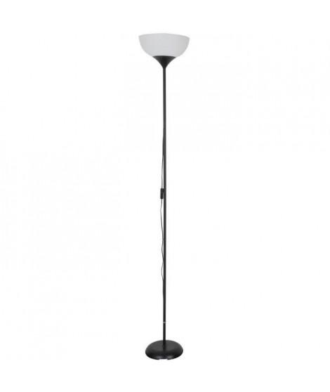 COREP Lampadaire en métal - Ø23 cm - Noir