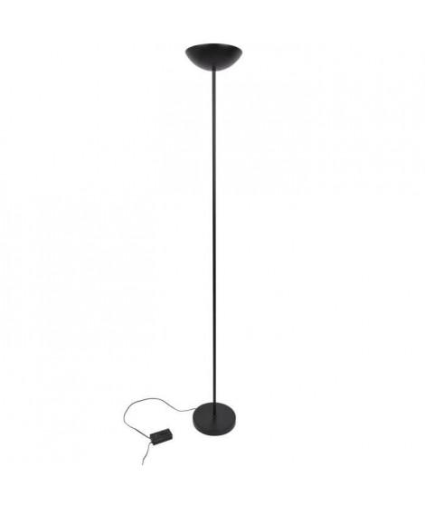 COREP Lampadaire en métal Halogene - Ø24 cm - Noir