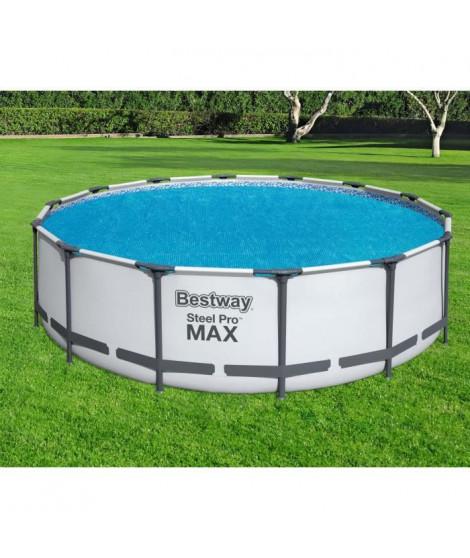 Bâche solaire flottante piscine Bestway Ø 417 cm