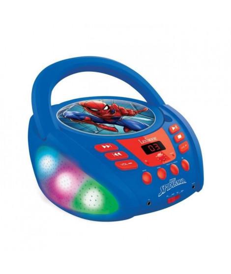 Lecteur CD Bluetooth Spider-Man avec Effets Lumineux