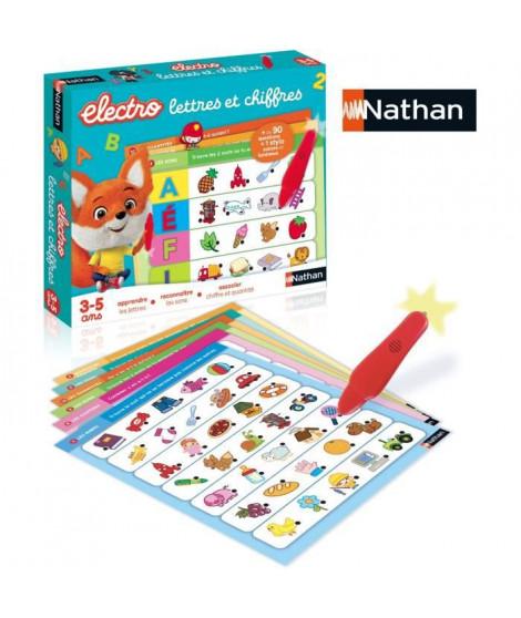 Nathan Electro - Lettres et Chiffres, jeu éléctronique