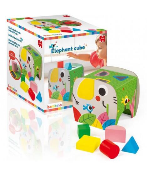 JUMBO 19806 - Elephant cube - Cube d'éveil