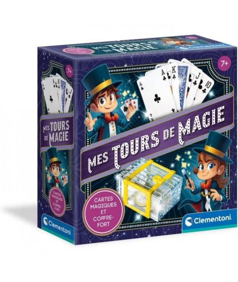 Clementoni - 52574 - Mes tours de magie - Cartes magiques et coffre-fort