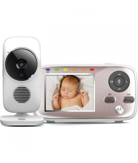 MOTOROLA BABY Mbp 667 connect 2 en 1 (wifi sur smartphone  + ecran video 2,8)  detecteur mouvements , temperature , talkie wa…