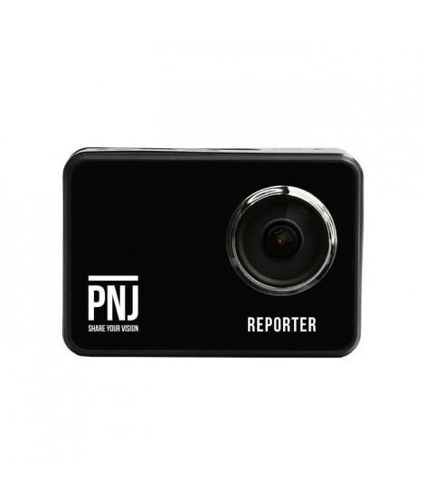 PNJ - Caméra de sport Reporter - Résolution 4K 15ips - Télécommande et écran tactile (CAM-REPORTER)
