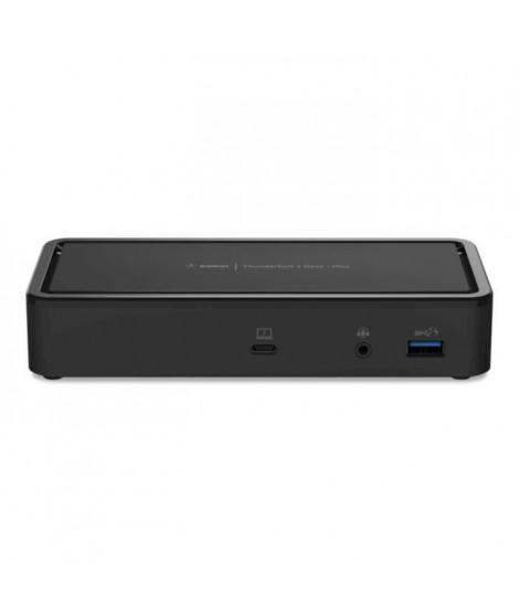 Belkin F4U109VF station d'accueil - réplicateur de ports pour ordinateur portable Noir