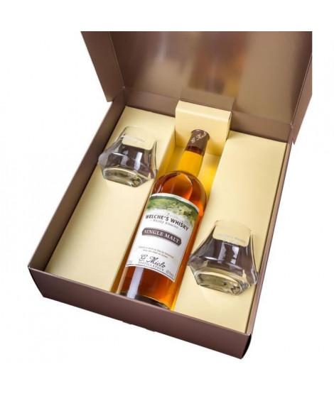 G. Miclo - Welche's Whisky - Single Malt Alsacien - 43% - 70 cl - Coffret - 2 Verres