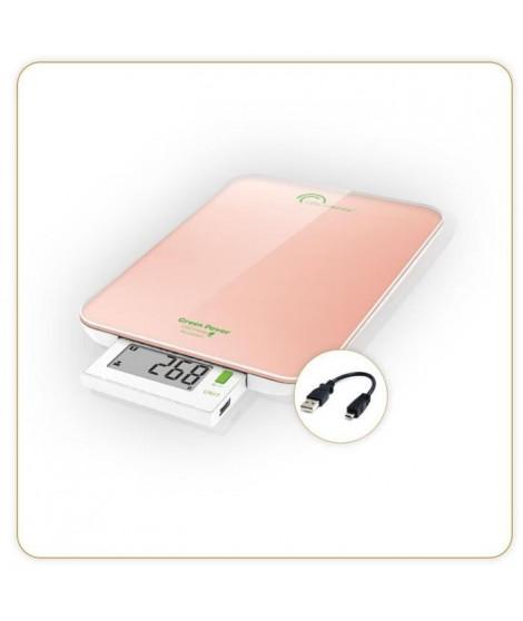 Little balance - balance de cuisine électronique 6kg - 1g rose - 8184