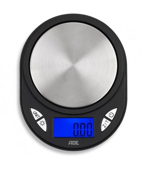 ADE 0409036 - Balance de poche portée 100g /graduation 0.01 g - Ecran LCD rétroéclairage bleu - Arret et tare automatique