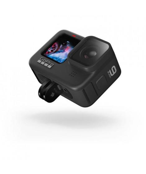 GOPRO 248819 - Caméra Gopro Hero 9 - Capteur 23,6MP pour des vidéos 5K et photos 20MP - Hypersmooth 3.0 - Ecran tactile - Noir