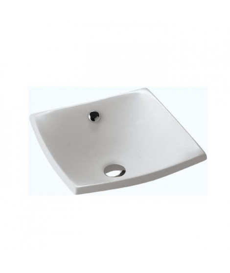 Jacob Delafon E1325-00 Escale Vasque a poser en céramique, Blanc