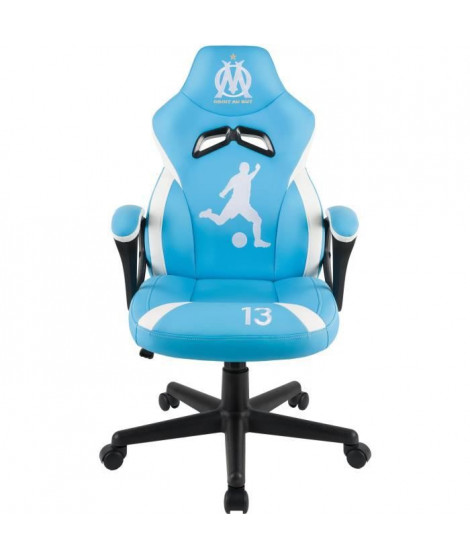 Fauteuil Gaming Junior - SUBSONIC - OM Olympique de Marseille - Licence Officielle