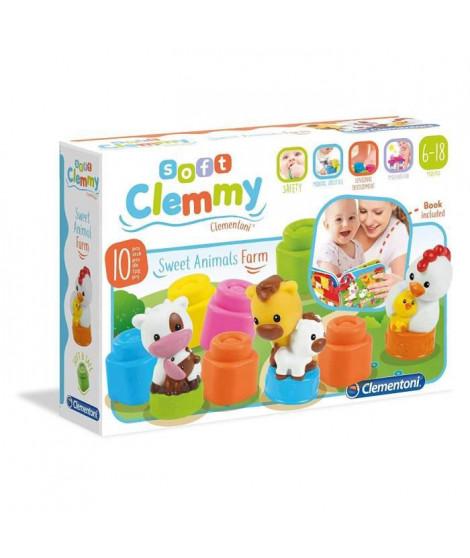 CLEMENTONI Clemmy - Animaux de la ferme - Cubes souples