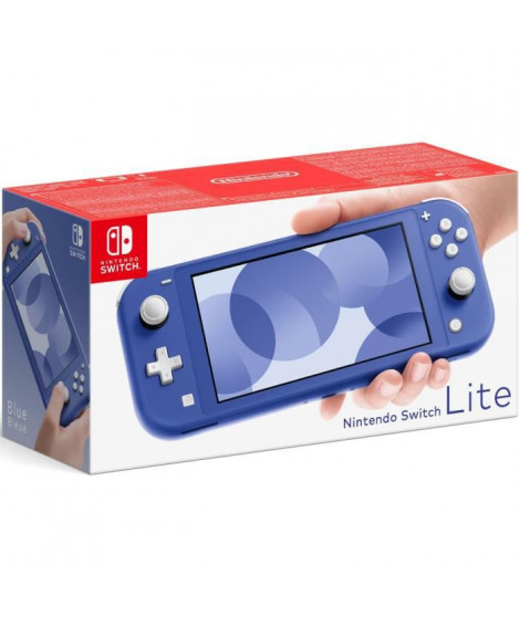 Console Nintendo Switch Lite Bleue