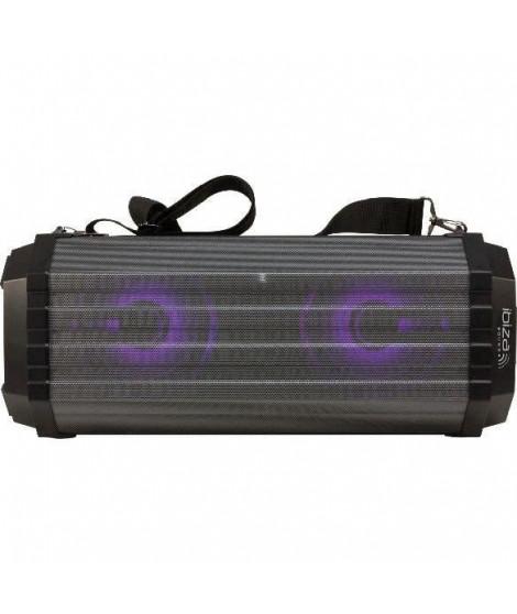 IBIZA FREESOUND200 - Enceinte nomade bluetooth a LED - Tuner FM - Ports USB et TF - Entrées micro & AUX