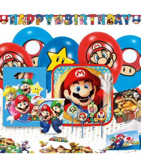 KIt de Fete Super Mario 60 Pieces