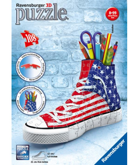 Puzzle 3D Ravensburger Sneaker American Style