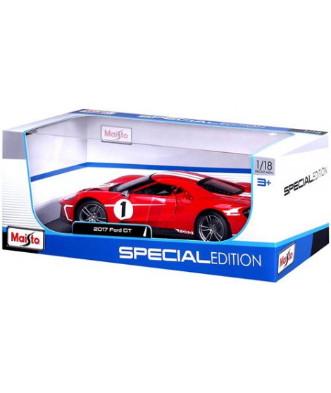 Voiture Maisto Ford GT 2016 1:18 Rouge