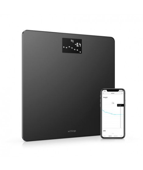 Balance Withings Body Noir