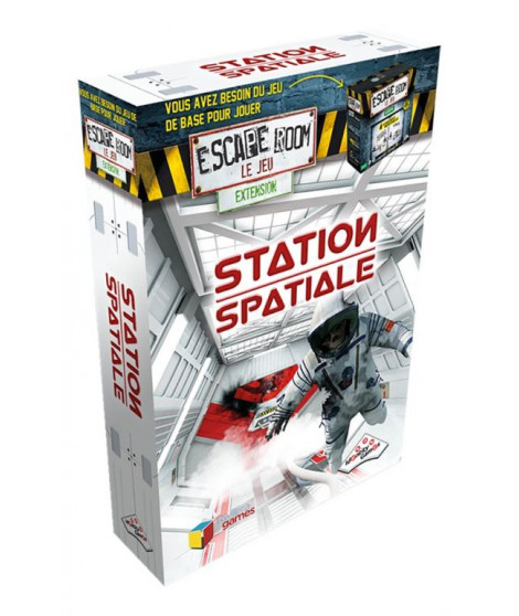 Escapade Room Pack Extension Station Spatiale Identity Game