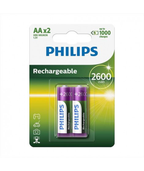 Batteries type AA Philips R6B2A260/10