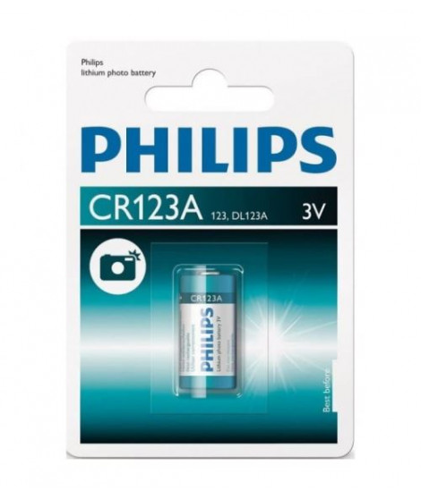 Pile Philips ExtremeLife CR123A Li