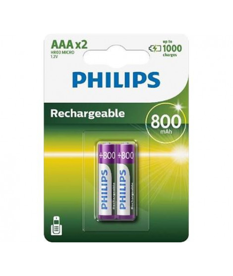 Batteries type AAA Philips R03B2A80/10