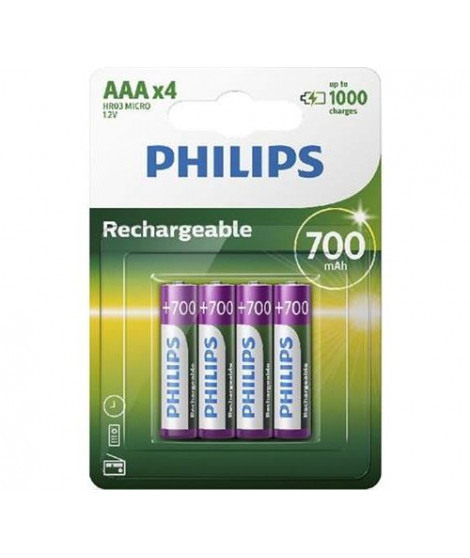 Batteries type AAA Philips R03B4A70/10