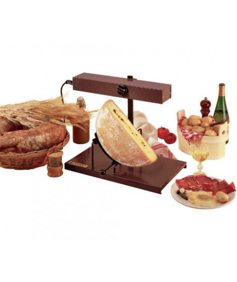 Raclette Louis Tellier Bron Coucke Traditionnelle Alpage Demi-Fromage RACL01 900 W