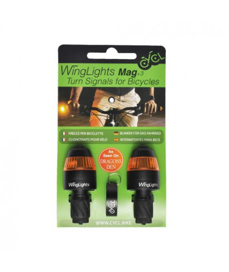 Clignotants Vélo Toad Winglights Magnet Cycl