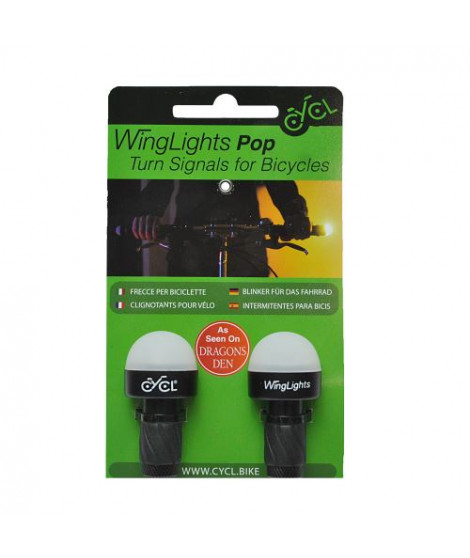 Clignotants Vélo Toad Winglights Pop Cycl