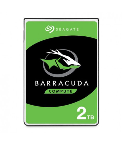 Disque Dur Interne Seagate BarraCuda ST2000LM015 2 To Argent