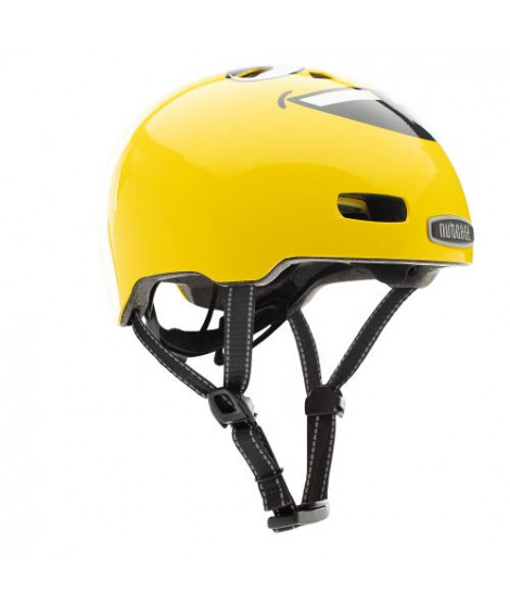 Casque Nutcase Little Nutty Tongues Out Jaune Taille XS
