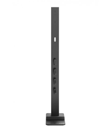 Support aspirateur balai Dyson Meliconi Cleaning Tower Gris