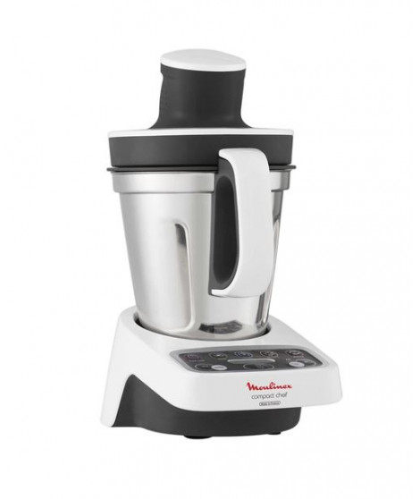 Robot cuiseur Moulinex Compact Chef HF405110 1000 W Blanc