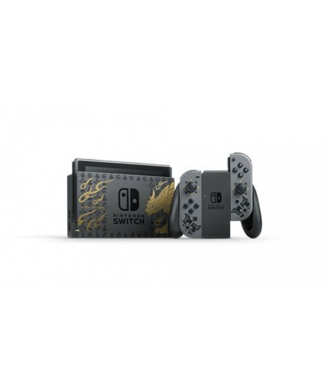 Console Nintendo Switch Edition Limitée Monster Hunter Rise
