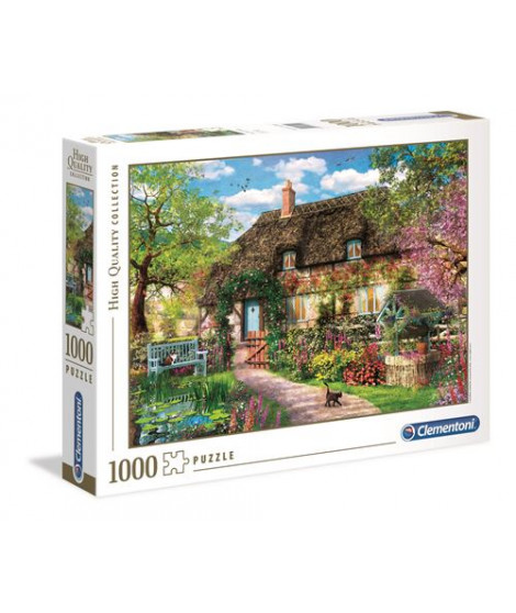 Puzzle 1000 pièces Clementoni High Quality The old cot