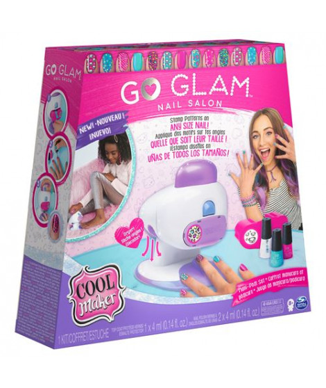 Go Glam Nail Stamper Deluxe Cool Maker