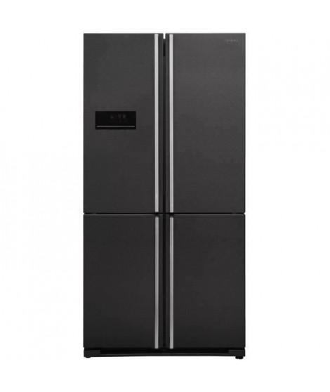 SHARP Réfrigérateur 4 Portes, 588 L, Dark inox