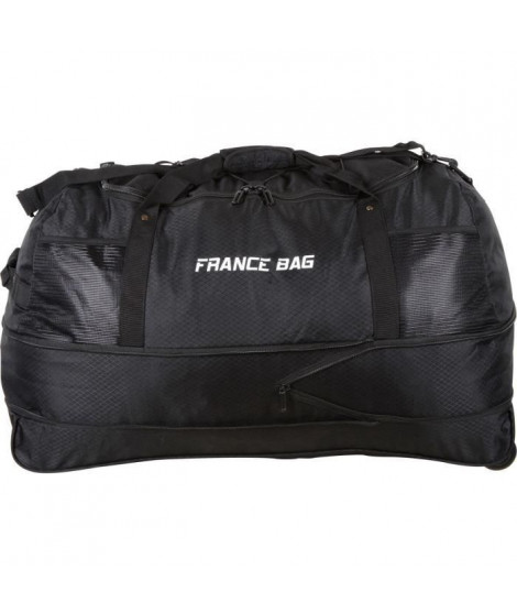 FRANCE BAG Sac de Voyage Pliable XXL Polyester 81cm Noir