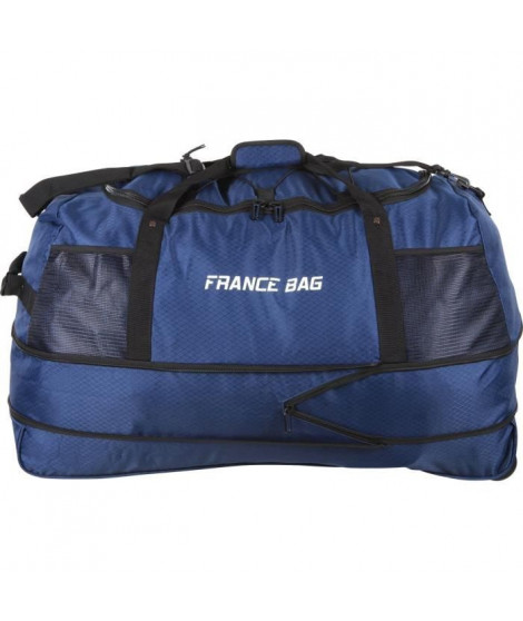 FRANCE BAG Sac de Voyage Pliable XXL Polyester 81cm Bleu Marine
